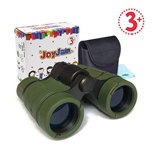 Joyjam Toys for 5-7 Year Old Boys, Mini Compact Kids Binoculars Outdoor Army Toys Birding Hunting Safari Boys Christmas Thanksgiving Gifts Party Favors for Kids Camo
