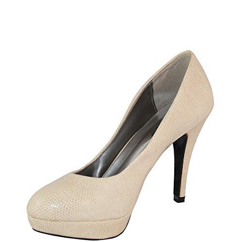 Rasalle Paris - Zapatos de vestir de Material Sintético para mujer Negro negro Negro - beige