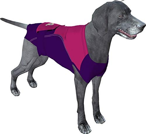 Surgi~Snuggly Washable Disposable Dog Diapers Keeper - for Male and Female Dogs - Fits Puppies to Adult Dogs - A Simple Solution to an Everyday Problem (PP-2XL-DK)