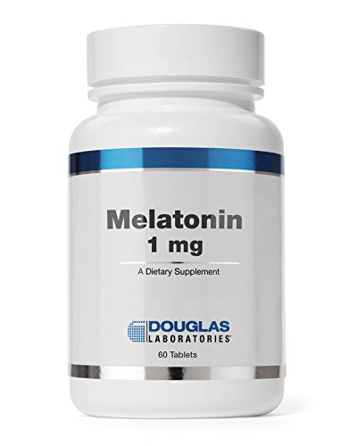 Douglas Laboratories - Melatonin 1 mg. - Supports Sleep/Wake Cycles* - 60 Tablets