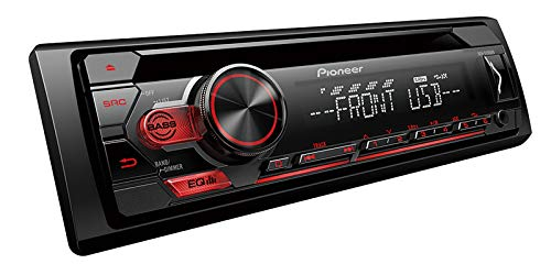 PIONEER DEH-S1100UB CD Receiver with AM/FM Tuner (Best Pioneer Cd Player)