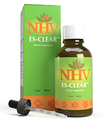 NHV ES Clear For Cats and Dogs - Helps Boost Immune System, Contains Antioxidants, Helps with Appetite and Vitality by NHV