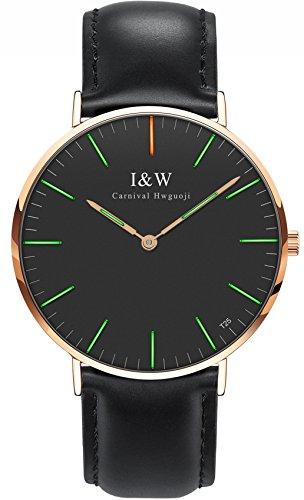 Tritium Luminous Sapphire Leather Watches product image