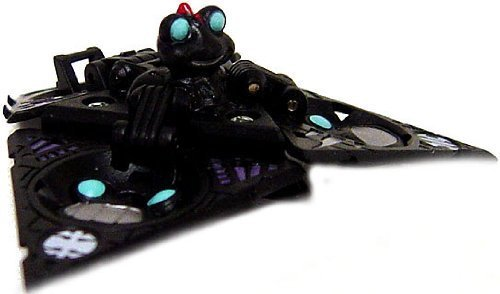 Bakugan New Vestroia Bakuneon LOOSE Single Figure Special Attack TRAP Darkon (Black) Tripod Epsilon