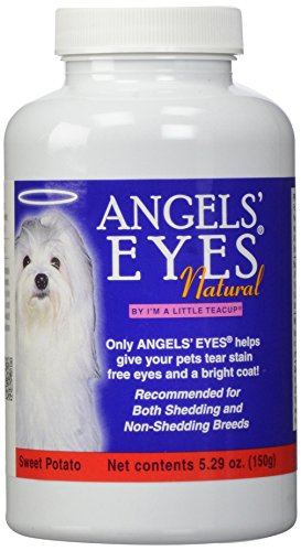 Angels Eyes Natural Chicken (Angels' Eyes Natural Tear Stain Eliminaton and Remover, Sweet Potato Flavor, 300 gm)