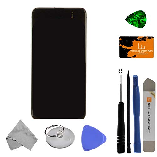 OLED, Digitizer & Frame Assembly for Samsung Galaxy S10e (Prism Green) (OEM) with Tool -