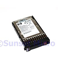 HP/Compaq DH036ABAA5 36GB 15000 RPM Single Port Serial Attached SCSI SAS Hot-Swap 2.5 Inch Hard Drive with Tray.