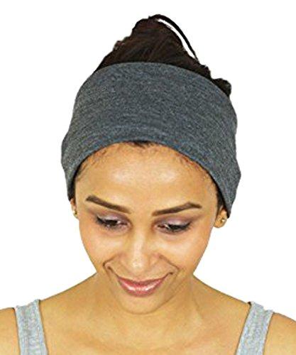 NimNik Fit Stirnbänder Haarband für Damen und Herren - Perfektes Unisex Sport Bandana für Joggen, Crossfit Yoga Pilates Gym aus schweiß- und feuchtigkeitsaufsaugender Baumwolle