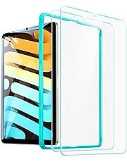 ESR 2-pack skärmskydd för iPad Mini 6 (8,3 tum, 2021), skärmskydd i härdat glas för iPad Mini 6:e generationen med installationsram, HD klar, repbeständigt