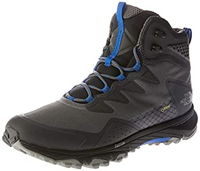 The North Face Men's Utra Fp Iii Md GTX, Shoes, Dkshdwgy/Trksea, 8.5 US