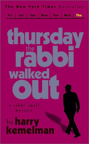 Download Thursday the Rabbi Walked Out (Rabbi Small Mystery S.) PDF