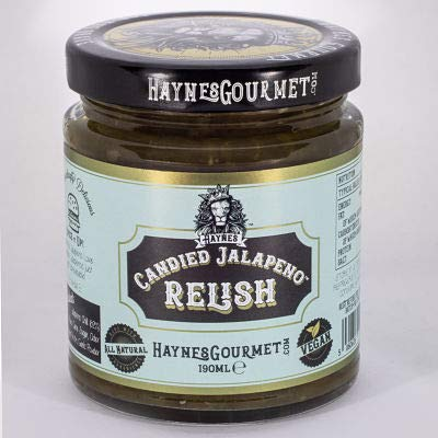 Haynes Candied Jalapeno Relish - Made in Britain