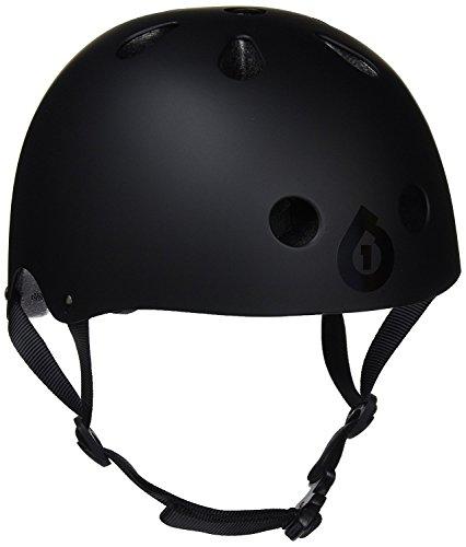 SixSixOne Dirt Lid Stacked Helmet (Matte Black/Black, One Size)