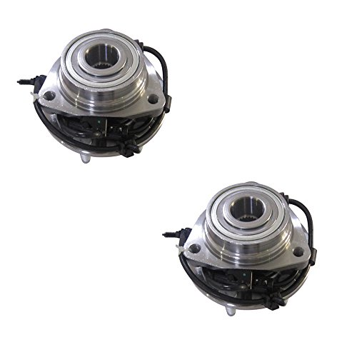 - DRIVESTAR 513188X2 (Pair) New Premium Front Hub Bearing Assembly w/ABS for 2002-2009 GMC Chevy