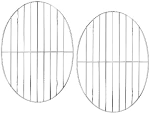 "(2 Pack) Roasting / Cooling Rack Oval 12"" x 8½"""