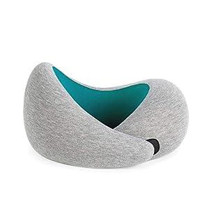 OSTRICHPILLOW GO Cuscino da viaggio portatile visco-elastico con memory foam, per rilassare collo in aereo, treno, auto… 8 spesavip