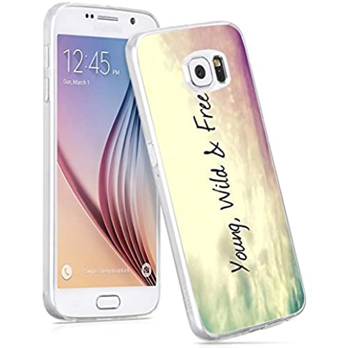 S7 Case,IWONE Samsung Galaxy S7 Case Tpu Skin Cover Protective Rubber Silicone Quotes About Life Inspirational Motivational From Books Movies Songs Sales