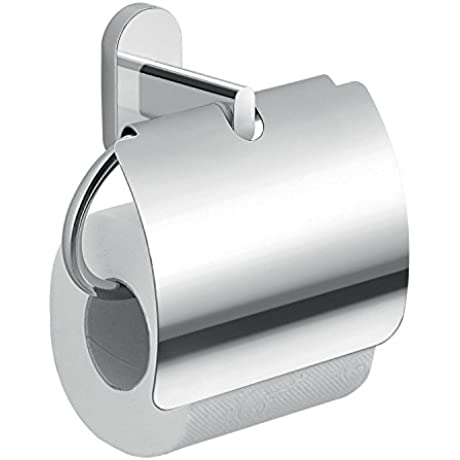 Toilet Paper Holder For The Bathroom Toilet Roll Holder Comes With Curved Cover Designed In Italy By Gedy For The Febo Collection