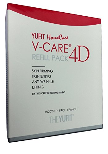 YUFIT Shape-Up 4D V-Line Chin Patches V Shape Cheek USA s-r Stretching V-Line Face lifting 10 (2x5) patches