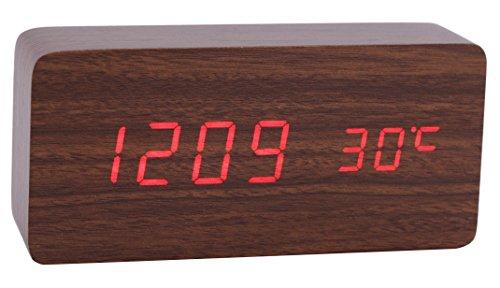 konigswerk-wood-grain-led-alarm-clock-time-temperature-date-display-sound-activated-auto-brightness-
