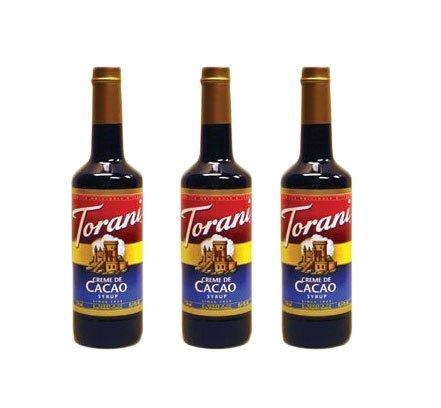 Torani Creme De Cacao Syrup (3 Pack) (Best Creme De Cacao)