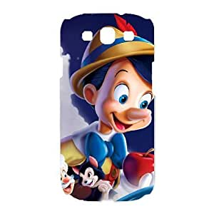 Samsung Galaxy S3 I9300 Phone Case Disney cartoon Pinocchio Protective Cell Phone Cases Cover DFK072510