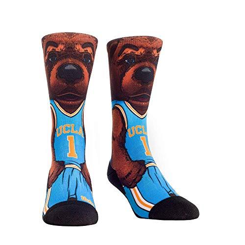 NCAA Super Premium College Fan Socks (L/XL, UCLA Bruins - Mascot)