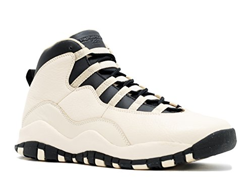 Nike Jordan Kids Jordan 10 Retro Prem Gg Pearl White Black Black Basketball  Shoe f1136f279