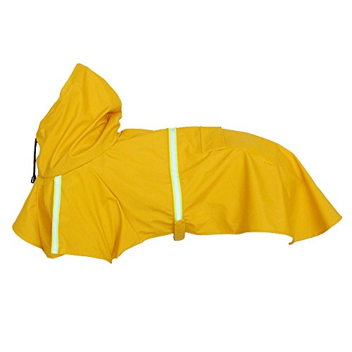 Midsummer Madness!Fauean Waterproof Large Pet Dog Clothes Outdoor Dog Coats Jacket Dog Raincoat for Dogs clothes Night reflective safety Golden Retriever jacke traincoat,Halloween,Christmas Costumes