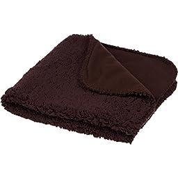 Petco Square Fleece Cat Throw in Chocolate, 24\