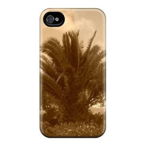 Fashion Tpu Case For Iphone 4/4s- Tree Defender Case Cover