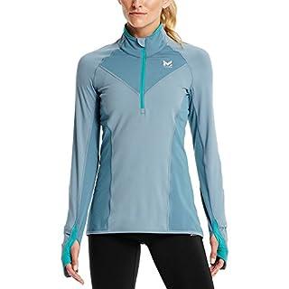 Mission Women's VaporActive Stamina Lightweight 1/4 Zip Long Sleeve Shirt