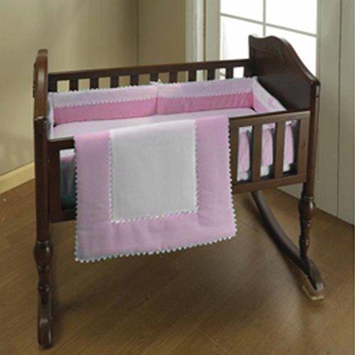 Baby Doll Bedding Ric Rac Bedding Mini Rac by Crib/ Port-a-Crib Set, Pink by BabyDoll Bedding B00342UHFO, MiSAIL:c8ee6372 --- ijpba.info