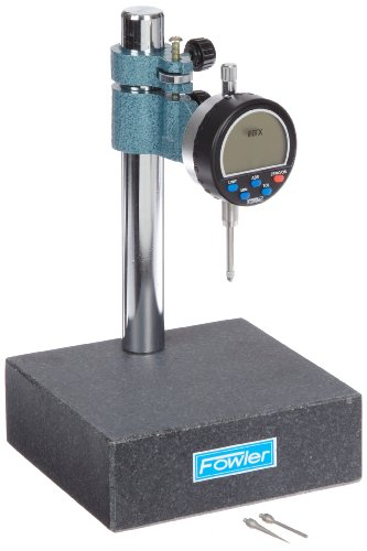 Fowler 52-580-025 Indi-X Granite Gage Stand with Electronic - Stand Dial Gage
