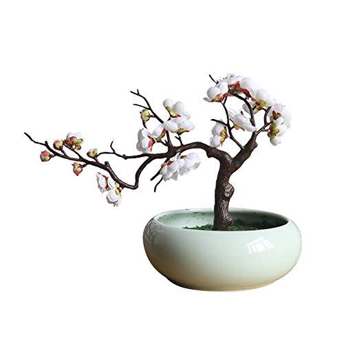 Narutosak Artificial Plum Blossom Fake Flowers Photo Props Wedding Home Office Shop Decor - ()