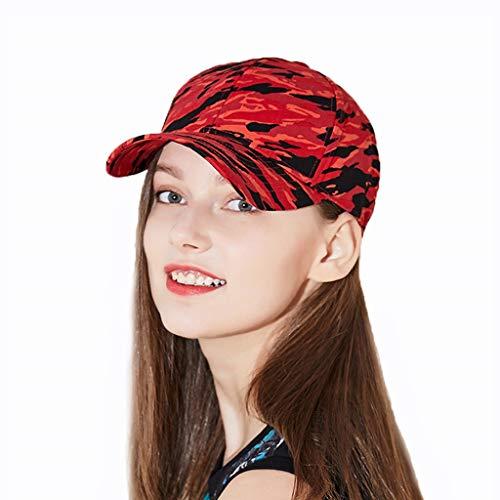 Red Gorra Accesorios De Salvaje Béisbol Verano Sombrero Calle La Capo Pareja Gorras Y Modelos Moda Sombreros Estudiante Camuflaje wxqaBTxEF