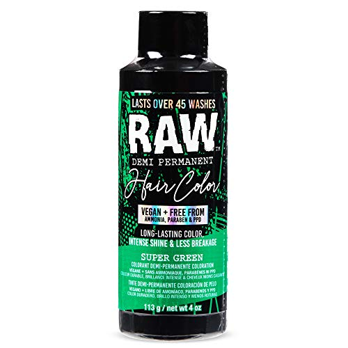 raw super green dye - 1
