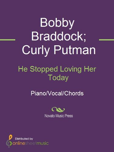 He Stopped Loving Her Today - Kindle edition by Bobby Braddock ...