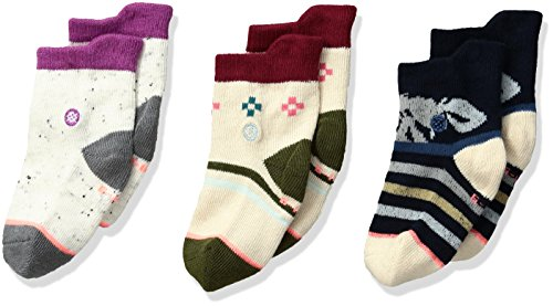 Stance Girls Flower Snowflake Stripes