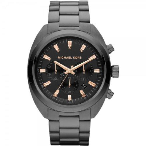 Michael Kors Men's MK8276 Dean Chronograph Gunmetal Tone Stainless Steel Watch