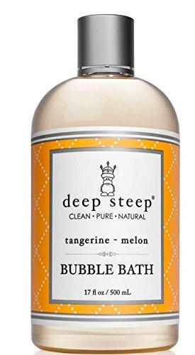 Deep Steep Bubble Bath, Tangerine Melon, 17 Ounce