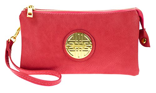 Canal Collection Leather Wristlet Emblem