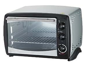 Harper TO2012GSILVER - Mini horno grill