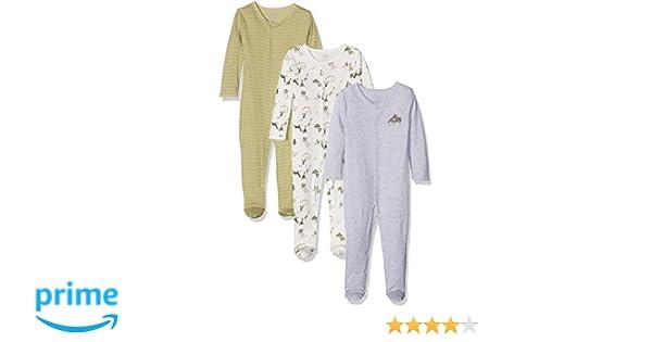 Mamas & Papas Pelele para Bebés (Pack de 3): Amazon.es: Ropa y accesorios