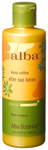 offee After Sun Lotion, 8.5-Ounce Bottle by Alba Botanica ()
