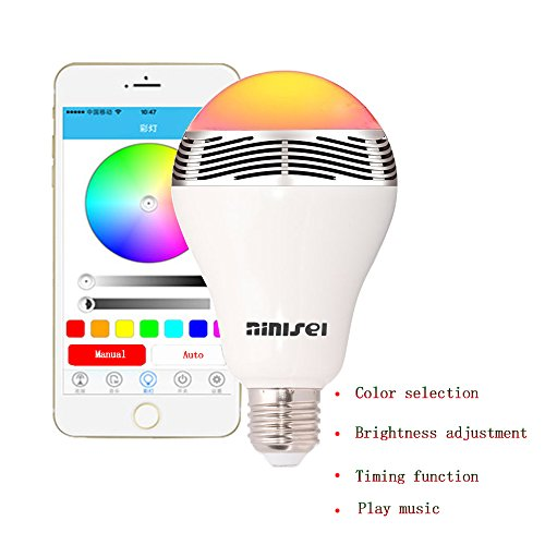 bluetooth lightbulb speaker - 7