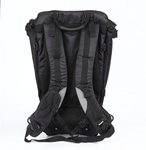 Snail Shop Hardshell Rucksack Outdoor Riding Rucksack Tasche Daypack Wandern Camping Reisetasche schwarz WI15aFK12O