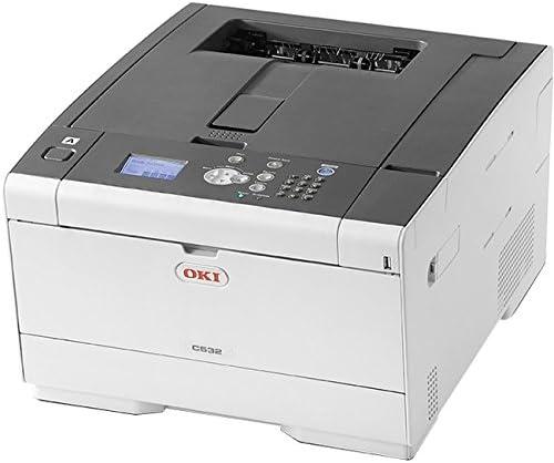 Amazon.com: OKIData 62447101 C532dn LED Color Laser Printer ...