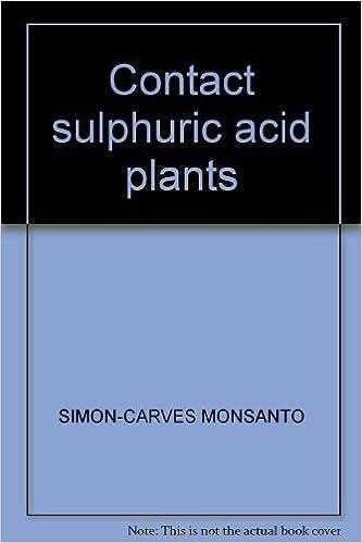 Contact sulphuric acid plants: Amazon co uk: SIMON-CARVES MONSANTO