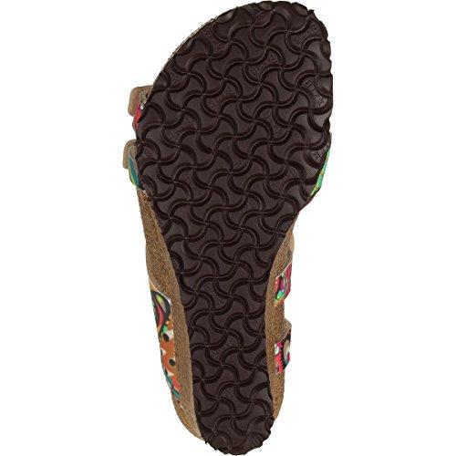 Birkenstock Ellen Narrow Sandal - Womens Wax Lampone Birko Flor